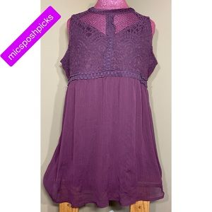 maurices lace tunic
